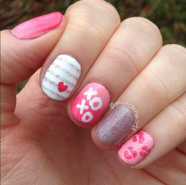 25 trending valentine nail designs ideas on pinterest 25 trending valentine nail designs ideas on pinterest valentines day nail designs valentines day nail design and stripped nails prinsesfo Images