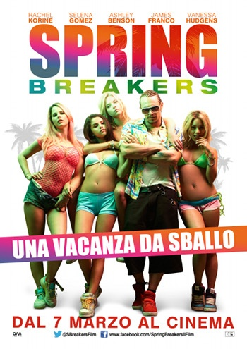 Vinci i biglietti al cinema per Spring Breakers!   www.cartagiovani.it