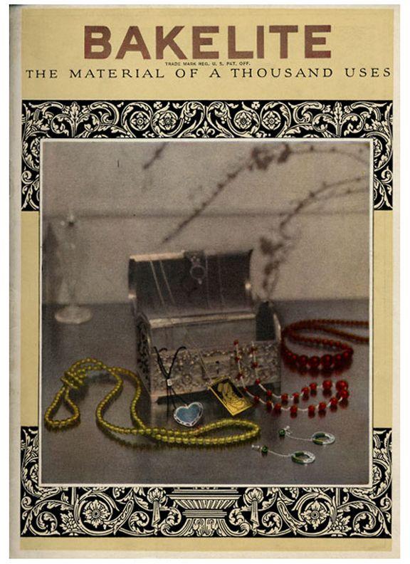 1907 Leo H Baekeland Invents Bakelite The First