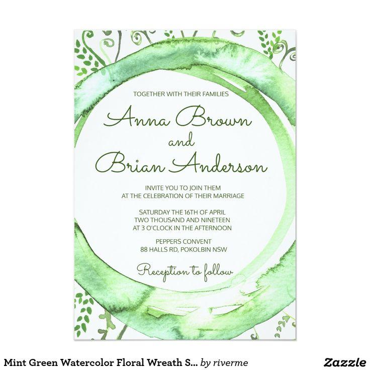 378 best SPRING WEDDING Invitations images on Pinterest   Spring ...