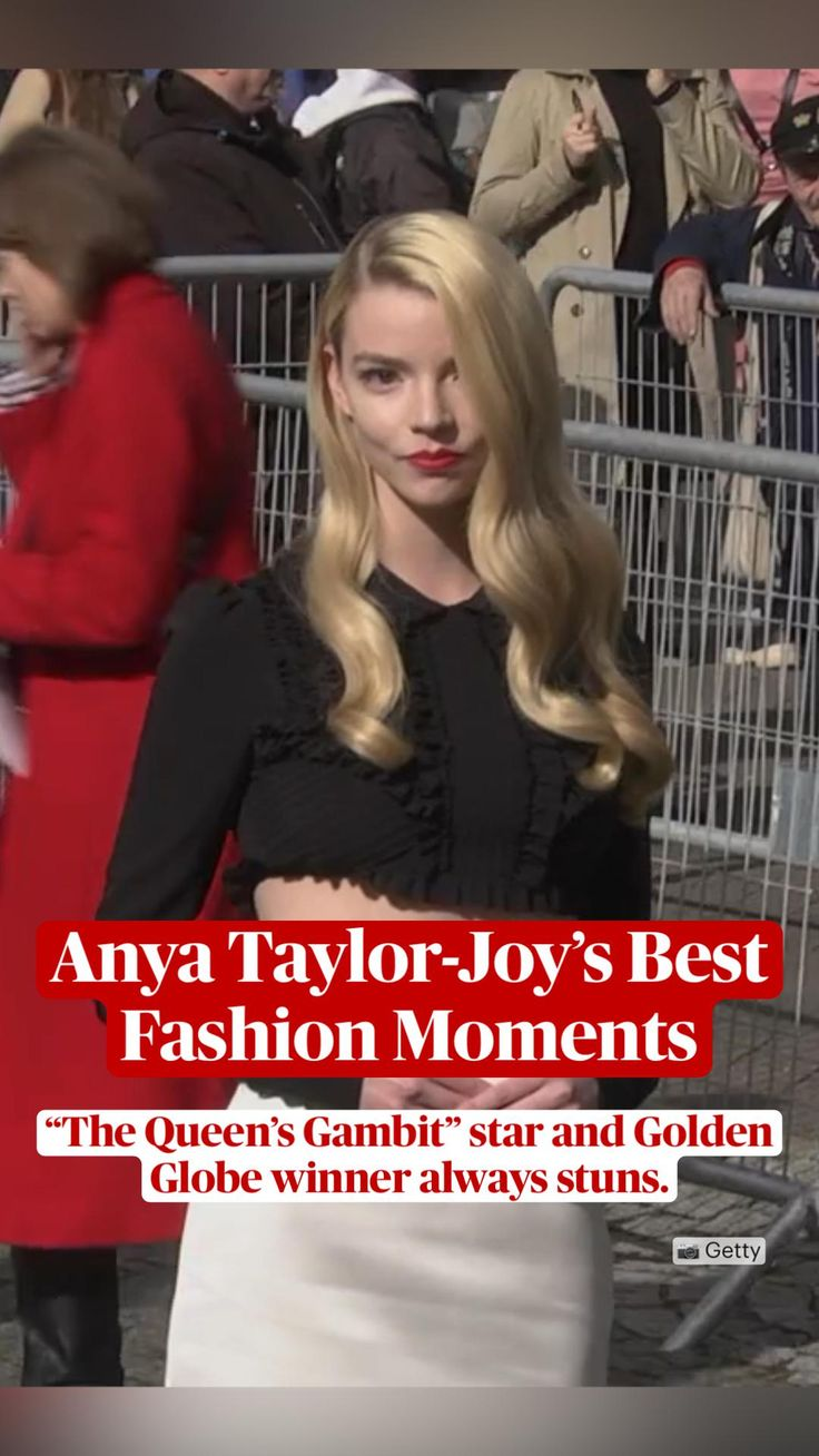 Celebrity Dresses, Celebrity Couples, Celebrity Style, Dolce And Gabbana Suits, Gucci Gown, Elle Style Awards, British Academy Film Awards, Anya Taylor Joy, Red Carpet Looks