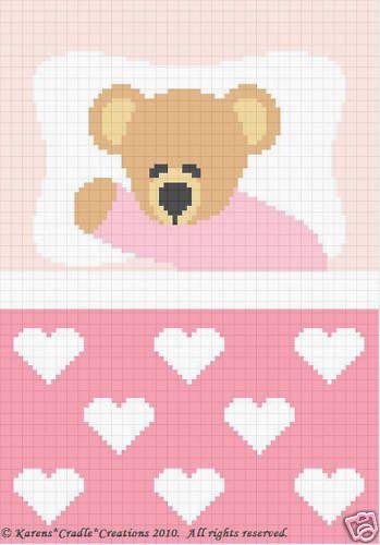Crochet Patterns Sweet Dreams Baby Girl Bear Pattern   eBay