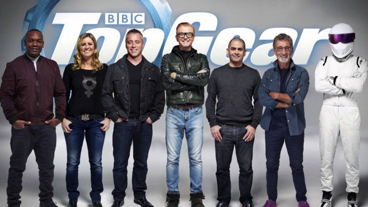 Chris Evans reveals the new Top Gear line up