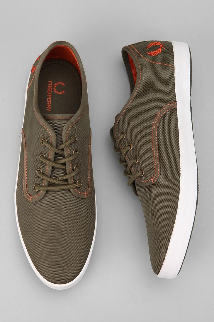 Fred Perry Foxx Nylon Sneaker - Urban Outfitters