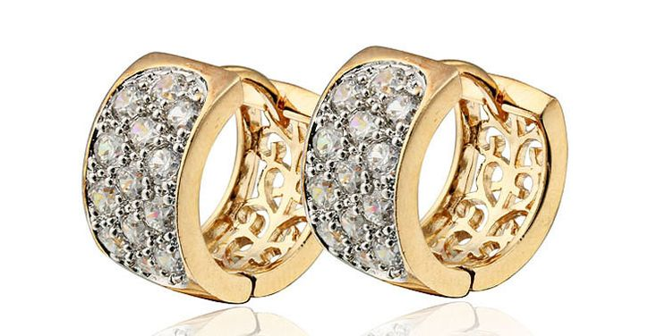 In this photo gallery, wonderful gold earrings for women with you. Pure gold is very soft state. Therefore, it is not used in pure gold earrings.