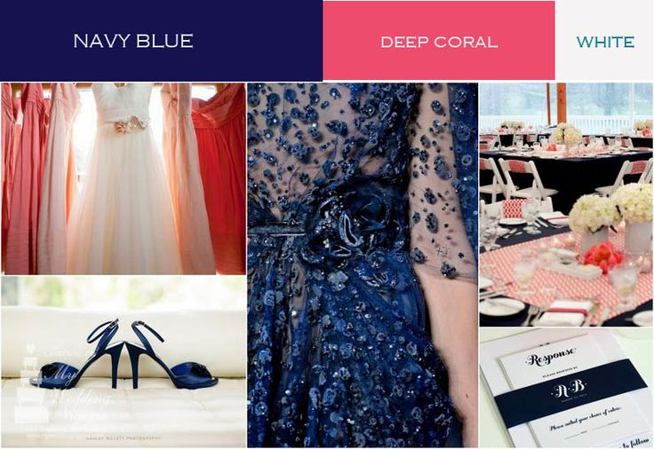 17 Best images about navy and coral wedding on Pinterest ...