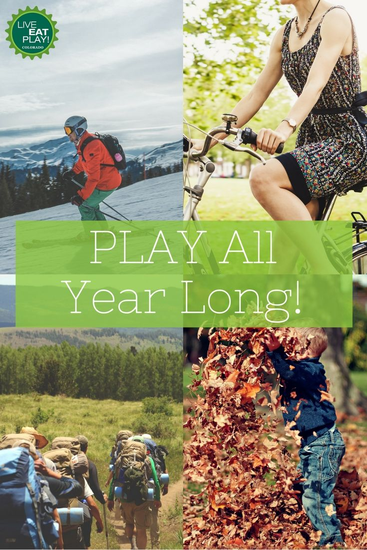 Make it your New Year's resolution to PLAY all year long! Click to find ideas for being physically active in any weather.