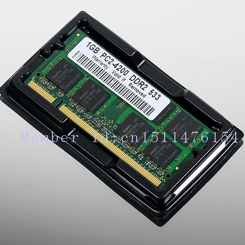 NEW 1GB PC2-4200 DDR2-533 533Mhz 200pin DIMM Laptop Memory pc4200 533MHZ DDR2 Low Density RAM Free shipping