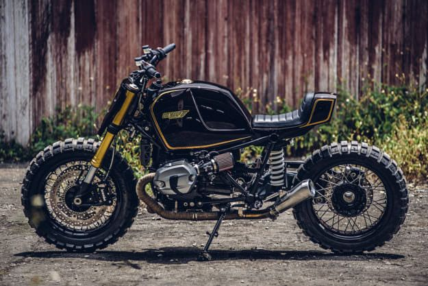 A BMW custom inspired by a Snickers bar (yes, really) | Bike EXIF