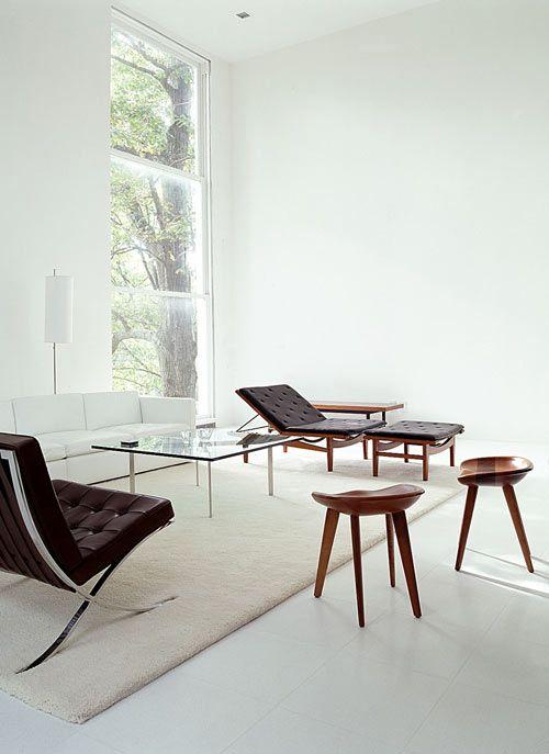 mid century modern: Interior Design, Modern, Chair, Living Rooms, Livingroom, Interiors, Mid Century, House, Space