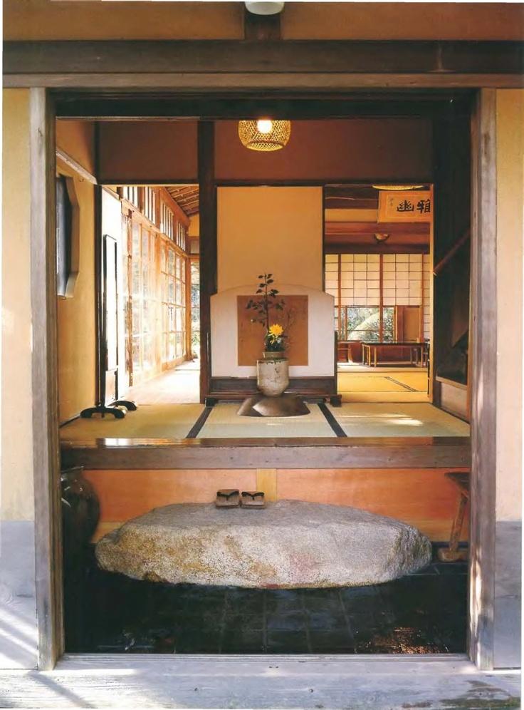 Entrance to Chizu Kusume House, Kanagawa Prefecture, Japan