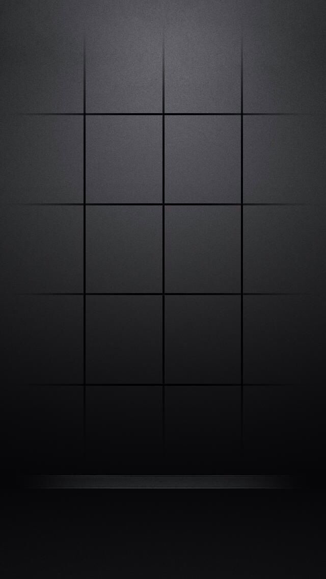 IPhone 5S Wallpaper Clean Grid For Home Screen