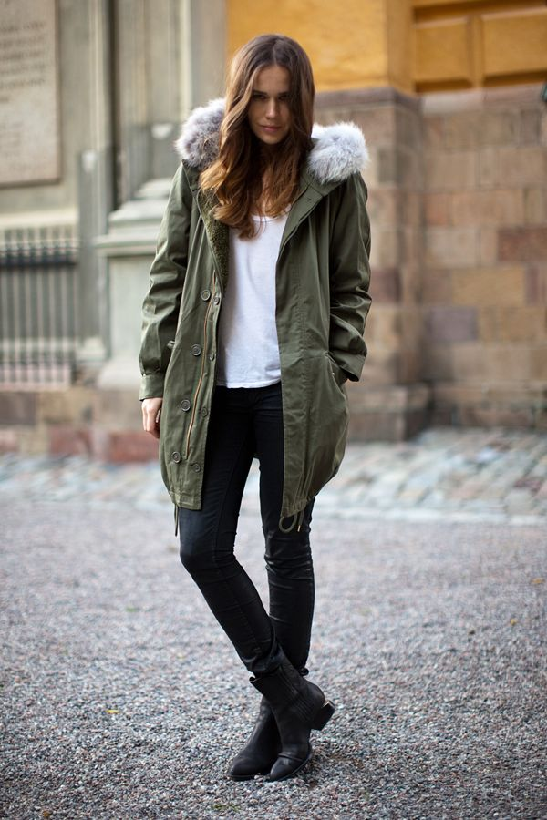 960 best paRKA styLE images on Pinterest | Accessories, Army ...