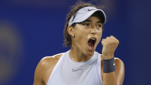 Garcia won the Wuhan Open last week to move up the rankings in the race for Singapore Johanna Konta is still not certain of qualifying for the WTA Finals in Singapore after Caroline Garcia reached the China Open quarter-finals. Britain's Konta holds the final qualification place for the...