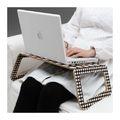 фото Подставка для ноутбука, черный/белый «БРЭДА»  ИКЕА