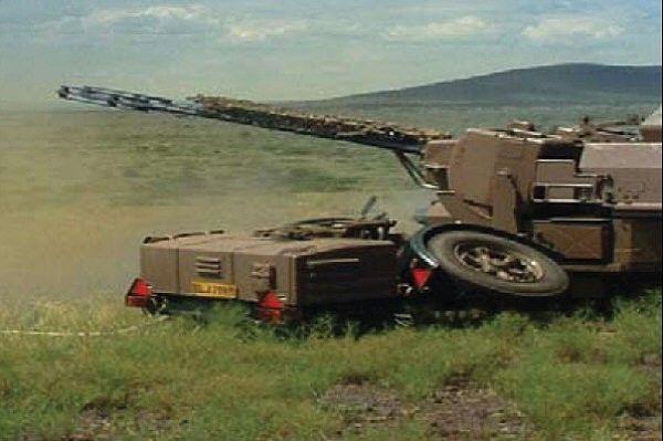 South African Anti-Aircraft Artillery: GDF-002 35mm AA gun