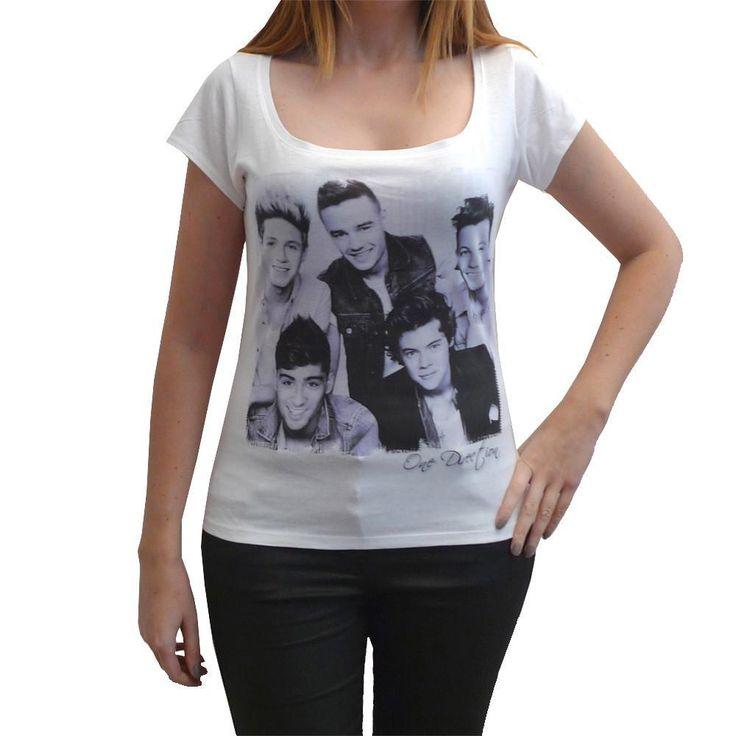 One Direction t-shirt Short-Sleeve Top celebrity