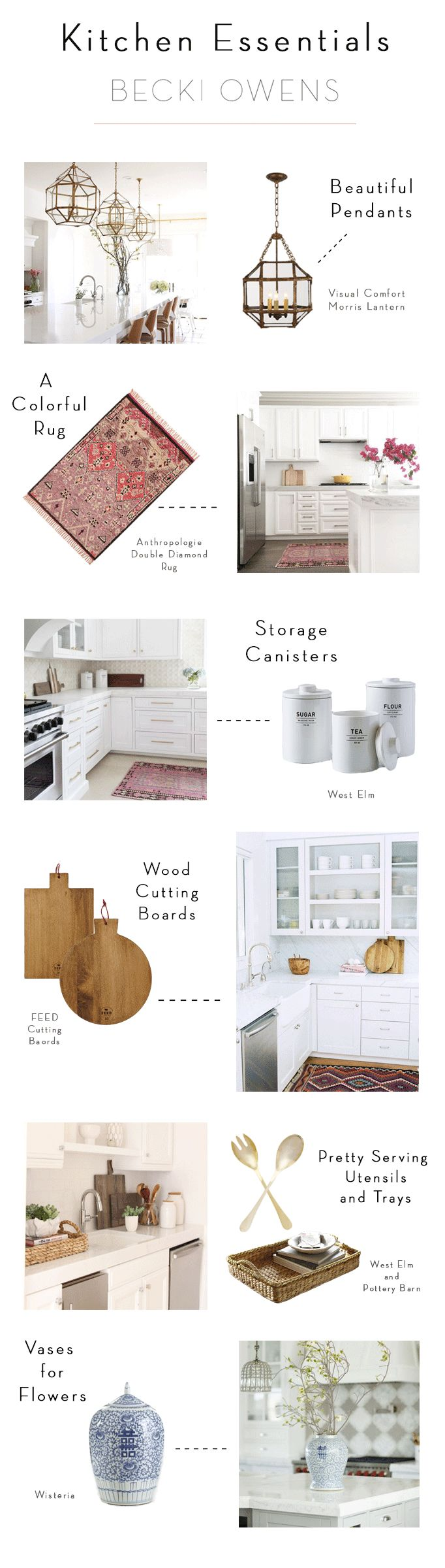 Kitchen Styling Essentials - Becki Owens