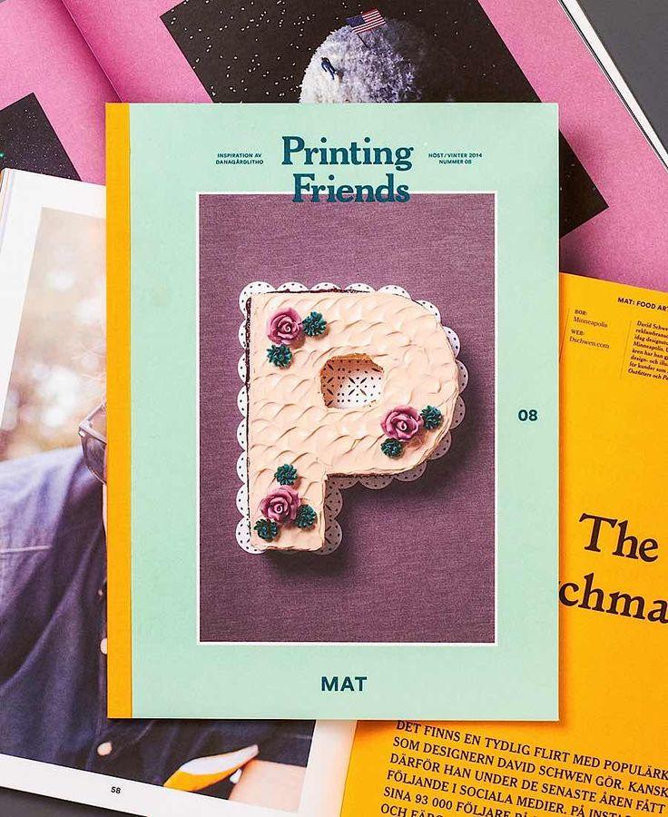 Editorial Design Inspiration: Printing Friends Magazine