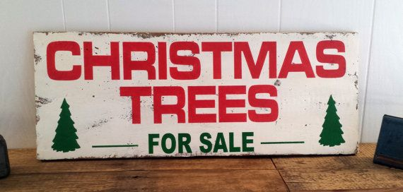 Christmas Tree Wall Decor  Measures 18.5x 48 and has a rustic, distressed look. Each sign is hand made and the look will vary from sign to sign and may differ from the photograph.  This sign will be made from 2 boards.  If you are interested in a 11.25 x 30 version of this sign, please check this link: https://www.etsy.com/listing/254280524/12-x-30-barn-wood-christmas-trees-for  Thank you for looking and have a wonderful day  The Pink Toolbox