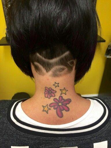 Short angled hair. Undercut design  STUDIO J LEA  Madison, Ohio