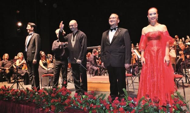 """The Antalya State Opera and Ballet (ANTDOB) will perform German composer Carl Orff's popular work """"Carmina Burana"""" on two dates, June 13 and 17, at the Haşim İşcan Culture Center. The orchestra will be conducted by Hakan Kalkan."""