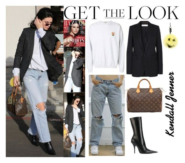 """Kendall Jenner With Kourtney Kardashian And Larsa Pippen at Blue Jam Caffe in Calabasas December.08.2017"" by valenlss ❤ liked on Polyvore featuring Caffé, Yeezy by Kanye West, Yves Saint Laurent, Louis Vuitton, Balenciaga, Fendi and vintage"