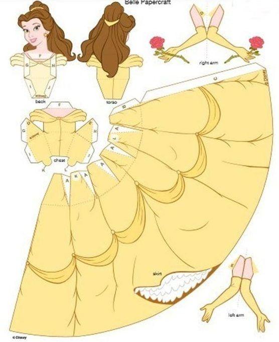 Welches Kind liebt Disney nicht? Sogar wir sind damit aufgewachsen und konnten davon nicht genug bekommen. Vor Kurzem hat Disney eine Reihe von Prinzessinnen digital aufs Papier gebracht, die über spezielle Falzränder verfügen. Auf diesen Digitaldrucken stehen bestimmte Falzlinien, sodass Sie selbst eine Disney Prinzessin in 3D falten können. Klicken Sie bei jeder Abbildung auf …