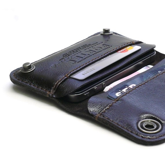 iphone leather wallet.
