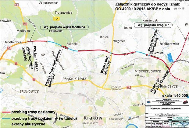 Północna obwodnica Krakowa