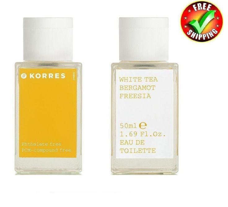 Korres White Tea,Bergamot,Freesia Woman Eau Eau De Toilette Spray 50ml 1.70 oz #Korres