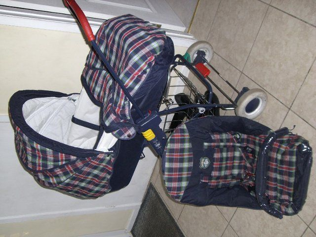 Vintage bebe confort 3 in 1 pushchair and pram- the coolest pushchair design