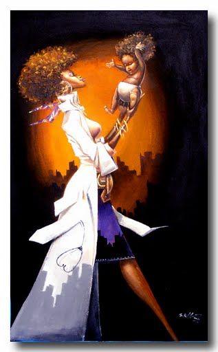 FRANK MORRISON ART natural hair www.blackhairOMG.com.... #YOUBETTAWERK!