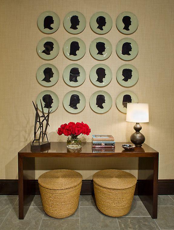 Designer Gallery Grasscloth Wallpaper Natural: 49 Best Wall Art Images On Pinterest