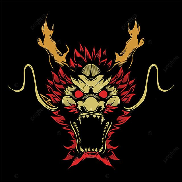 Head Dragon Hand Drawing Vector Lion King Lion King Clipart Icon Vector Png And Vector With Transparent Background For Free Download Menggambar Kepala Gambar Png