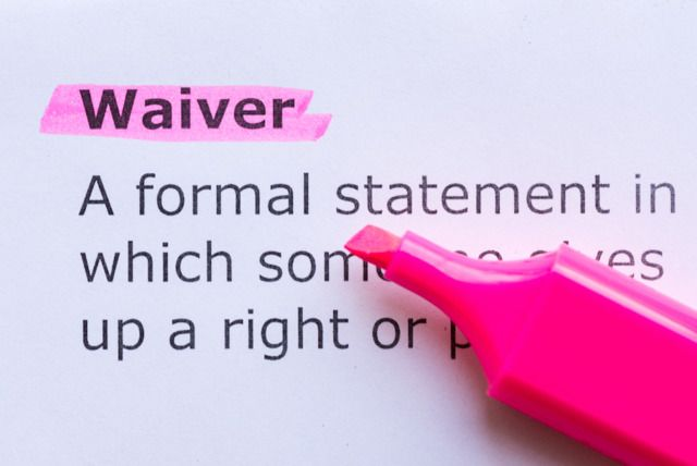 Waiver Definition Image 56fab1ab0c927