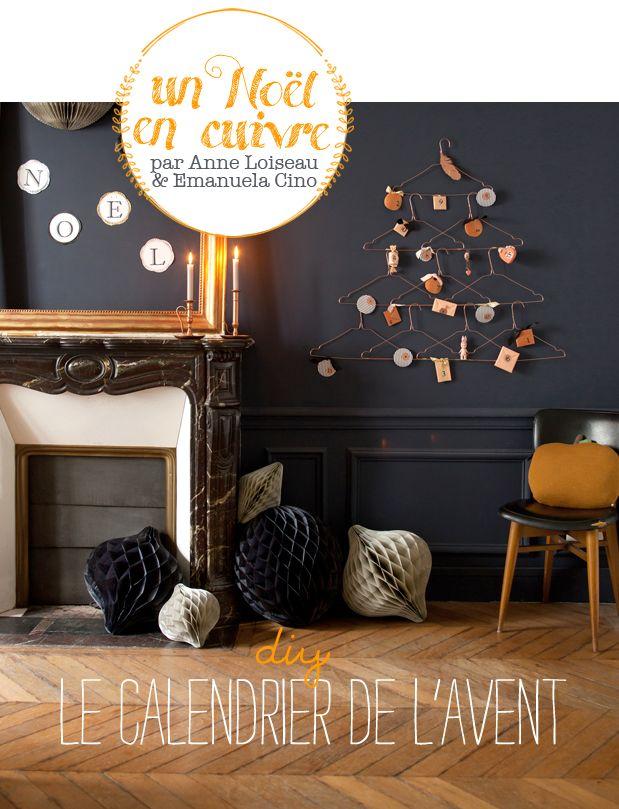 Diy : Le calendrier de l'avent par Anne Loiseau et Emanuela Cino pour Lait Fraise Mag
