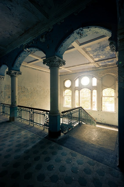 Spectacular Places: Sanatorium Beelitz Heilstatten in Brandenburg, Germany