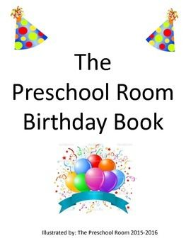 Have you ever thought about creating a personalized class birthday display? This Preschool Room Birthday Book has everything you need except the binder....Included are 12 cover pages- one for each month with colorful pictures of items that represent the month- April has colorful umbrellas, May has spring flowers, July the flag, September a school bus and more....Each month page has the name of the month allowing for children to make that written and spoken word connection.Included are two…