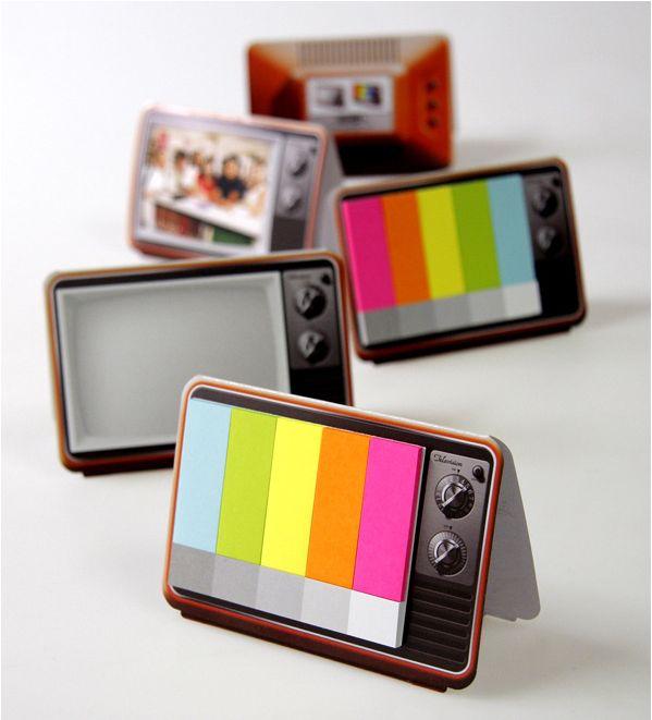 Mini TV Memo Pad
