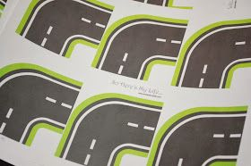 So Here's My Life...: Printable Roads for Kids' Toy Cars