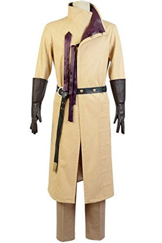 MingL Men's Jaime Lannister Costume Game of Thrones Kingslayer Ser Cosplay Outfit Attire