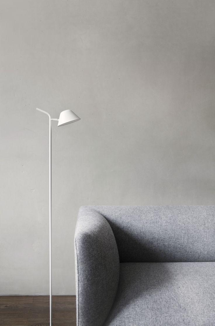 MENU, Kinfolk Studio Copenhagen, Godot Couch, Peek Floor Lamp