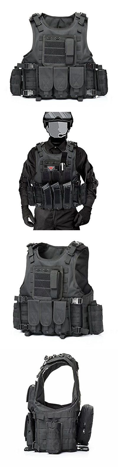 Vests 36284: Yakeda Airsoft Vests Tactical Vest Outdoor Field Play Army Fans Cs Game Expand -> BUY IT NOW ONLY: $66.25 on eBay!
