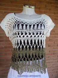 blusa de inverno em croche de grampo - Pesquisa Google