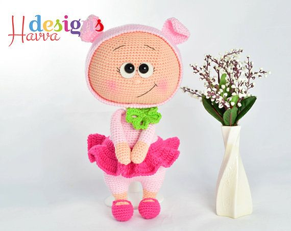********Welcome to Havva Designs Patterns Store********* **This listing is for an amigurumi pattern, not the finished toy. **This pattern is