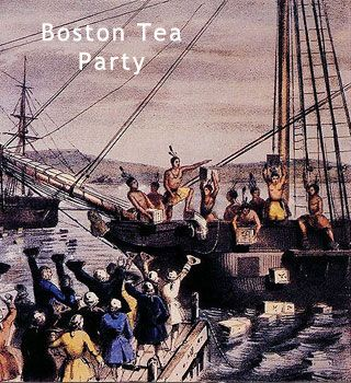Date of boston tea party in Perth