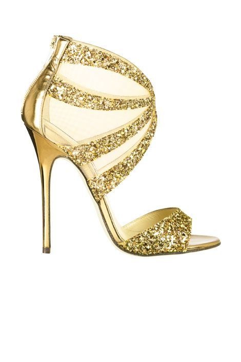glittery jimmy choos to add a bit of sparkle to your timeline #shoeporn