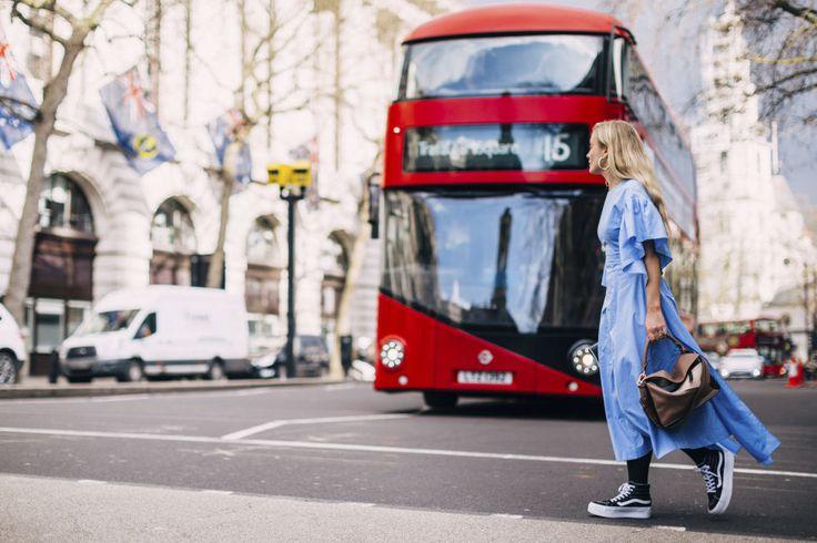 Todos los estilismos de la semana de la moda británica.
