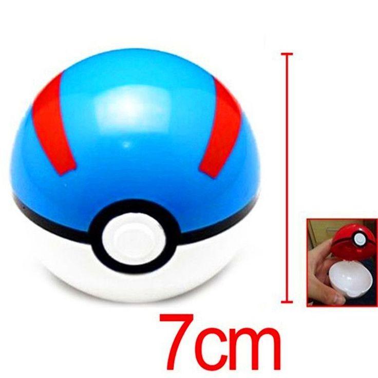 Pokemon Ball 7cm Figures ABS Anime Action Figures Pokemon PokeBall Toys Super Master Pokemon Ball Toys Pokeball Juguetes